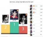 2018년 6월 5주 베스트아이돌 투표 결과