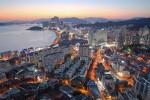 론리플래닛이 선정한 아시아 최고의 여행지 1위 부산 전경
