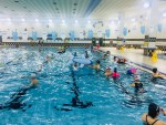 금천구민문화체육센터가 운영하는 여름철 행복 물놀이장