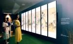 조선 최후의 거장, 장승업 X 취화선전에 설치된 디지털 사이니지와 슈퍼 울트라 HD TV