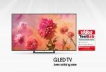 번인, 잔상 프리 인증을 받은 삼성 QLED TV