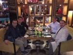메틴 아이딘 - 글로리아 진스 커피 실크로드 상무이사, 루이스 추아 - 시장개발 매니저, 다부트 아즈미 에르바스 - APEAS 소유주, 이기트 제렌 - APEAS 프로젝트 매니저