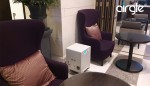 에어글 코리아가 롯데월드 롯데시네마에 설치한 AG600 공기청정기