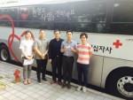 퍼시스그룹이 25일 임직원 60여명이 동참한 헌혈 행사를 실시했다