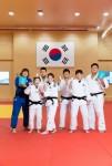 유사나가 후원한 하계아시아경기대회 유도 국가대표선수들