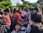2017년 진행했던 자유학기제 중 농촌융복합산업 실습장에서 진행한 현장수업