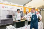 유스포럼에서 LG 광파오븐을 이용한 요리교실이 진행됐다