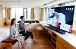 LG전자가 일부 호텔에서 TV시어터룸을 선보인다