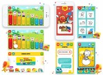 COSCOI, an animation character development and digital contents company in Korea, released two smart edutainment apps for kids Go East! Coloring and Go East! Xylophone, developed as part of COSCOI Friends series using Go East, its typical intellectua