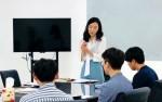 비즈토크가 글로벌 직무일본어 수업을 하는 장면