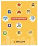 인천 수봉도서관 건강정보+ 특화사업 운영 포스터