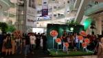 인도네시아 자카르타 Atrium Mall Gandaria City에서 개최된 퓨어힐스 론칭쇼 현장