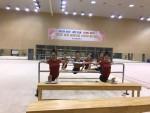 국가대표 리듬체조 선수 거미그물망 구조 특수의류 머레이크 후원