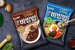 팔도비빔밥 진짜짜장과 산채나물