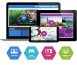 브라이트코브의 Video Cloud는 제공되는 HTML5 비디오 플레이어를 통해 어떤 디바이스에서든 쉽게 접근하도록 도와 컨텐츠 배포의 장벽을 낮춘다