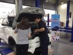 쌍용자동차가 실시하는 추석 특별 무상점검서비스