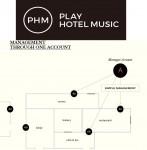 한개의 아이디로 호텔 여러 구역에 음악을 송출할 수 있는 플레이호텔뮤직 시스템