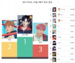 베스트아이돌 2018년 10월 1주차 투표 결과
