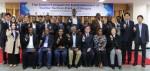 에티오피아 섬유테크노파크 조성 사업 1차연도 초청연수 수료식에 참석한 연수생들과 관계자들