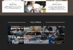 엠펀드 홈페이지 메인에 소개된 서비스 화면