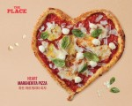 더플레이스의 하트마르게리타 피자