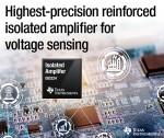 TI가 산업용 전압 감지 애플리케이션에서 긴 수명을 보장하는 고정밀 강화 절연 증폭기 제품을 출시한다