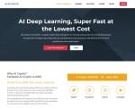 AIC Deep Learning 홈페이지 캡쳐