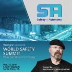 벨로다인 라이더는 전 미스버스터 책임 프로듀서 제이미 하이네만이 주최하는 세계 안전성 서밋을 후원한다