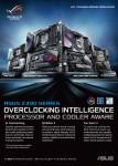 에이수스의 Z390 칩셋 기반 메인보드 제품들