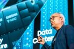 미국 실리콘밸리에서 주최한 삼성 테크 데이 2018에서 미주 지역총괄 최주선 부사장이 개회사를 하고 있다