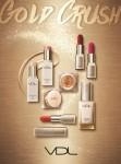 LG생활건강이 출시한 2018 VDL 홀리데이 컬렉션 GOLD CRUSH