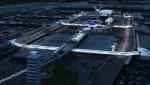 로스앤젤레스 국제공항 미래 모습 조감도