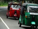 스리랑카 대중교통 툭툭이