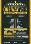 ONE WAY VOL.2 - LOCKING / WAACKING ROOKIE BATTLE 포스터