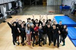 서울거리예술창작센터에서 국내 서커스 예술가와 태양의 서커스 쿠자 공연팀이 워크숍을 가졌다