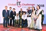 LG전자는 한국장애인재활협회와 공동으로 9일부터 12일까지 인도 뉴델리 아쇽호텔에서 '2018 글로벌장애청소년IT챌린지'를 진행했다.