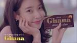 롯데제과가 가나초콜릿 광고 모델로 가수 아이유를 발탁했다