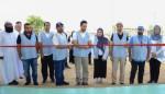 셰이크 술탄 빈 아메드 알 카시미 인도주의 특사 겸 SMC 회장이 병원 개원을 선언했다