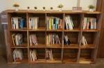 문화체육관광부와 한국도서관협회가 조성한 큰글자책 전용서가