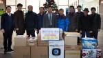국립중앙청소년수련원은 사회공헌활동으로 인근 4개 마을 회관에 운영물품을 기증했다