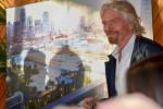 버진그룹의 창립자 리처드 브랜슨이 보이지스의 마이애미항 신규 터미널 건립 계획을 발표했다