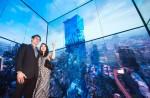 LG전자가 태국 최고층 건물에 올레드 사이니지를 설치했다