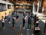 """Allblanc, which develops Korean videos on social media, launched """"Allblanc fit,"""" an advanced concept fitness program which grafted networking onto exercise for young adults in their 20s and 30s."""