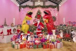 제주허브동산의 크리스마스 포토존