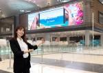 삼성전자가 터키 이스탄불 신공항에 스마트 사이니지 700여대를 설치했다