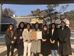 르 꼬르동 블루-숙명 아카데미 재학생들이 직접운영한 팝업 디저트 까페 수익금 전액을 경기도 광주에 위치한 나눔의 집에 기부했다