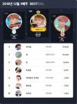 베스트아이돌 12월 3째주 TOP10