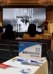 중국 상하이에서 열린 2018 K-스토리 & 웹툰 인 차이나에 참가한 올댓스토리