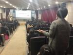 순천시장애인종합복지관이 개최한 장애인식개선 공감토크 현장