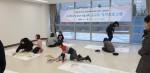 심리치료 프로그램에 참여중인 그룹홈 아동들